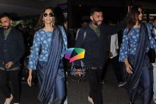 LOOK: Sonam Kapoor - Anand Ahuja make a Cute Couple at the Airport