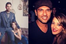 Yuvraj Singh - Hazel Keech celebrate their one year anniversary