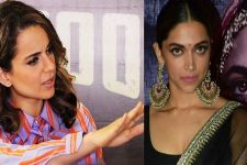 Kangana Ranaut blatantly declines to support Deepika Padukone's film