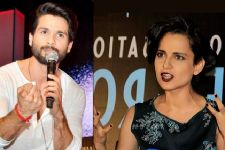 Kangana Ranaut gave her piece of mind about 'Padmavati', Shahid says..