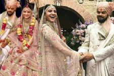 Exchanging Rings- Walking down the Aisle: CUTE Videos of Virat-Anushka