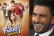 Ranveer Singh all Praises for Fukrey Returns...