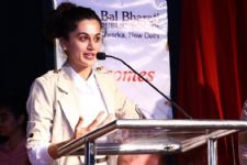 Not forgetting the root! Taapsee Pannu...