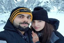 Anushka - Virat's Honeymoon selfie will win your heart