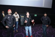 Varun aka Choocha visits theaters to see live reactions to his film