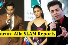 Varun Dhawan- Alia Bhatt REACT to RUMORS