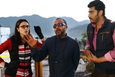 Arjun Kapoor - Parineeti Chopra shoot at Indo-Nepal border