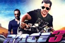 'Race 3' team shoots first song