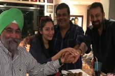 Sanjay Dutt wraps Saheb, Biwi Aur Gangster 3 with a party