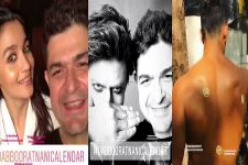 Videos:Shah Rukh Khan, Alia Bhatt, and others shoot for Dabboo Ratnani