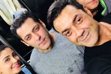 Salman- Bobby Kick Start Race 3 in Bangkok: Pics Below