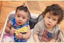 Cutest Picture: Baby Taimur 'Carpooling' with his cousin Inaaya!