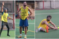 Ranbir Kapoor, Dino Morea and Jim Sarbh Enjoy a Sporty Sunday!