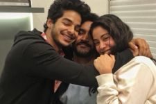 Jahnavi- Ishaan's pic from their LAST DAY at Shoot