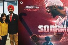 Sandeep Singh: Thank You, to bring my story to the big screen!
