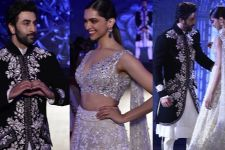 Ranbir- Deepika's CUTE- ADORABLE moments from the Ramp