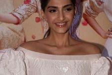 Sonam Kapoor Sizzles In White At Veerey Di Wedding Trailer Launch