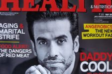 Tusshar Kapoor goes monochrome in the Health Magazine cover for May!
