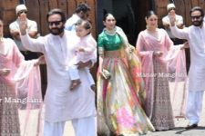 Taimur Ali Khan makes a STYLISH Entry at Sonam's Wedding: Pics Below