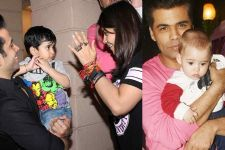 Ekta- Karan holding Laksshya - Yash is the CUTEST pic you'll see today