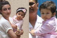 Inaaya SMILES but Taimur SMIRKS at the papz: Cousins Day Out