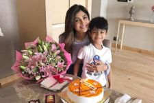 Shilpa  Shetty just got the Cutest Present on her B'day