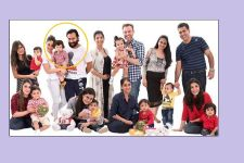PHOTO: Taimur Ali Khan's FIRST family class photo with Saif - Kareena!