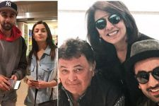 Alia Bhatt flies off to New York to spend time with KAPOOR family