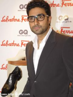 abhishek bachchan gets his customised Ferragamo shoes