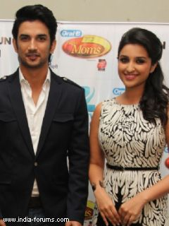 sushant singh rajpur and parineeti chopra
