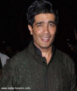 Fashion designer Manish malhotra