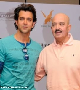 hrithik roshan and rakesh roshan