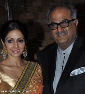 boney kapoor and Sridevi