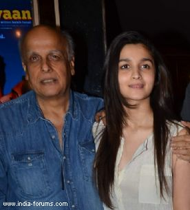 Alia on Mahesh bhatt