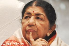 Singing legend lata mangeshkar