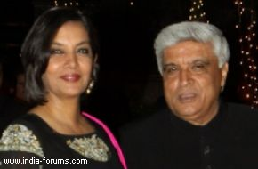 shabana azmi and javed akthar