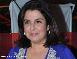 Choreographer-director farah khan