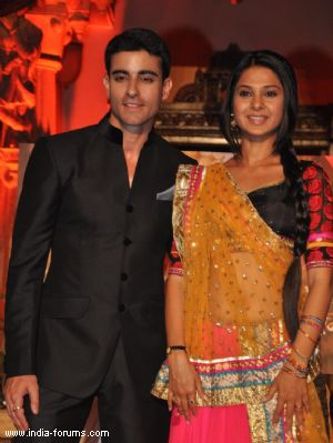 Larger than life look for Saraswatichandra