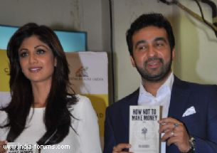 Businessman Raj kundra and shilpa shetty