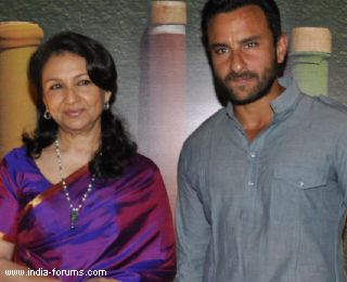 saif ali khan and sharmila tagore