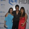 Shahrukh Khan with wife Gauri Khan and Rani Mukherjee at HDIL India Couture Week 2010
