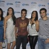 Aditi Govitrikar, Tusshar Kapoor and Arbaaz Khan with wife Malaika Arora Khan at  HDIL India Couture