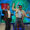 Salman Khan and Abbaz Kazmi dancing in Bigg Boss 4