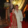 Sanjay Dutt with wife Manyata Dutt at Mata ki Chowki at Bandra