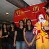 John and Pakhi at McDonalds to promote Jhoothi Hi Sahi at Andheri, Mumbai