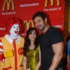 John and Pakhi at McDonalds to promote Jhootha Hi Sahi