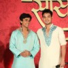 Srman Jain and Meghan Jadhav at press conference of Sony's new show 'Saas Bina Sasural' at JW Marrio