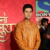 "Aishwarya and Ravi at Press Conference of Sony's new show ""Saas Bina Sasural'' at JW Marriot, Mumbai"