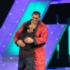 Salman gives WWE Superstar The Great Khali a hug