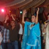 Neha Dhupia, Rajpal promote Action Replayy at Juhu Jagruti Navratri at Juhu